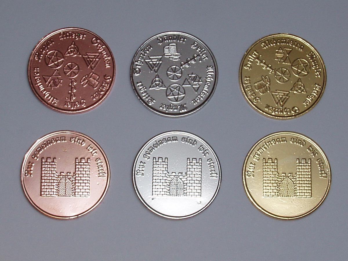 Larp Handel 20 Larp Münzen